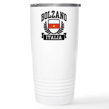 Bolzano Italia Stainless Steel Travel Mug