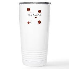 Never Trust AFart Thermos Mug