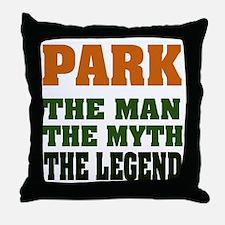 PARK - The Legend Throw Pillow