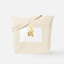 Happy Day Bear Tote Bag