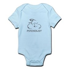 Psycho Cyclist? PSYCHOLIST! Infant Bodysuit