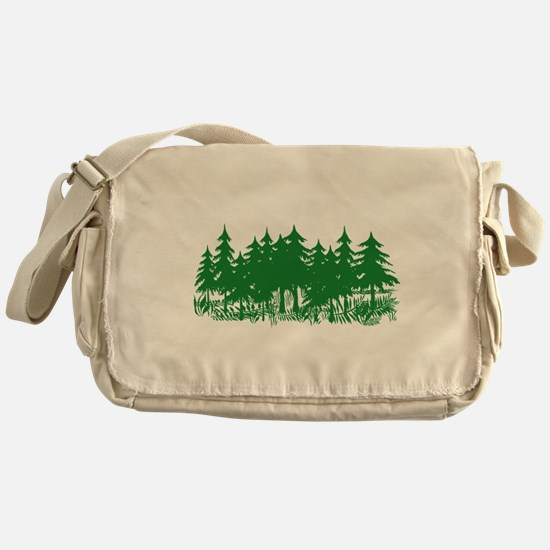 Trees Messenger Bag