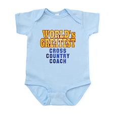 World's Greatest Cross Country Coach Infant Bodysu
