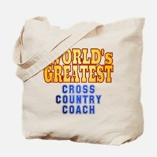 World's Greatest Cross Country Coach Tote Bag