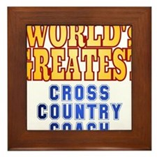 World's Greatest Cross Country Coach Framed Tile