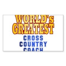 World's Greatest Cross Country Coach Decal