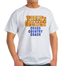 World's Greatest Cross Country Coach T-Shirt