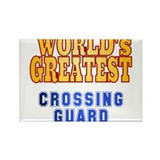 World's Greatest Crossing Guard Rectangle Magnet