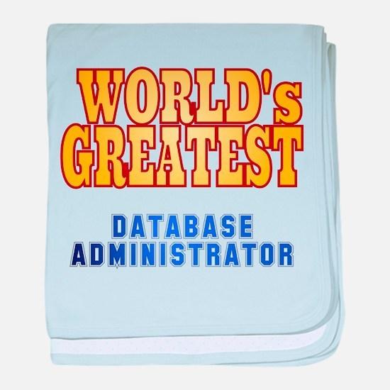 World's Greatest Database Administrator baby blank