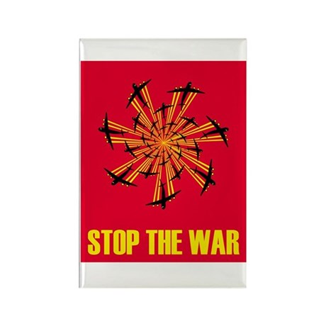 Stop the war! #2 Rectangle Magnet (10 pack)