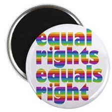 rainbow equal rights Magnet