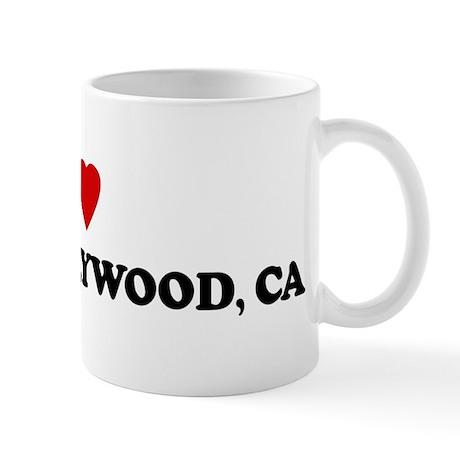 I Love WEST HOLLYWOOD Mug