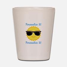 PERSONALIZED Cute Sunglasses Sun Shot Glass