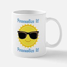 PERSONALIZED Cute Sunglasses Sun Mugs