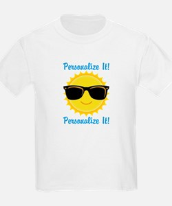 PERSONALIZED Cute Sunglasses Sun T-Shirt