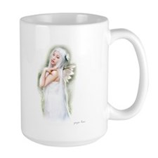 Large Golden Faerie Tea Mug