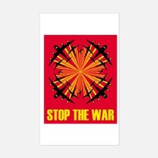 Stop the war! #1 Rectangle Decal