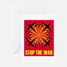 Stop the war! #1 Greeting Cards (Pk of 10)