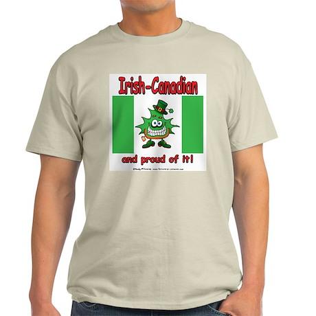 Irish-Canadian Ash Grey T-Shirt