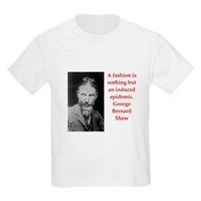 george bernard shaw quote T-Shirt