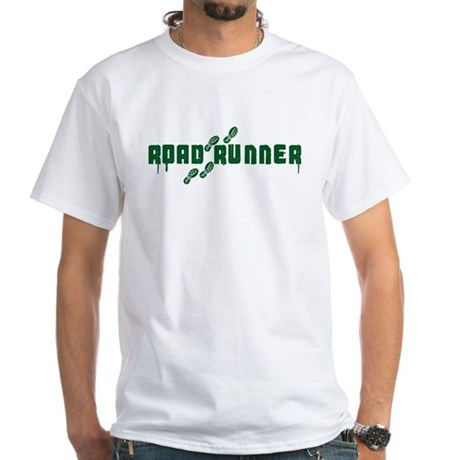Hit that Tarmac White T-Shirt