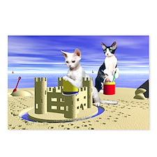 Devon Sandcastle Postcards (Package of 8)