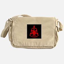 Dead Mans Red Messenger Bag
