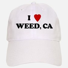 I Love WEED Baseball Baseball Cap