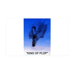 king of plop with text Wall Decal