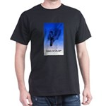 king of plop with text Dark T-Shirt