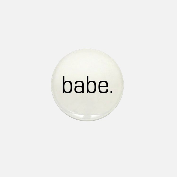 Babe Mini Button