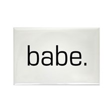 Babe Rectangle Magnet
