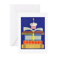 Birthday Book Greeting Card