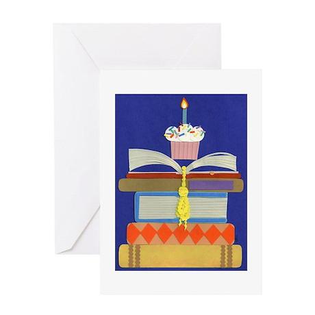 Birthday Book Greeting Card