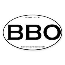 BBO Big Bone Outdoors Beaverlick Decal