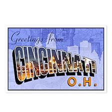 Greetings from Cincinnati Postcards (Package of 8)