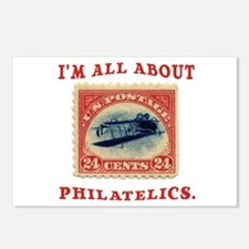 I'm All About Philatelics Postcards (Package of 8)