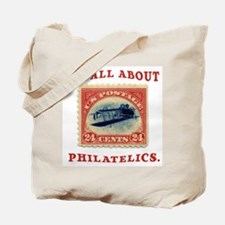 I'm All About Philatelics Tote Bag