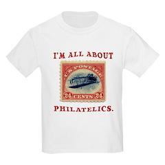 I'm All About Philatelics Kids T-Shirt