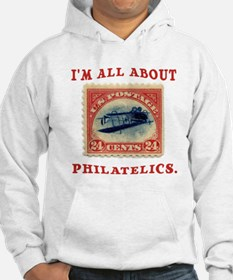 I'm All About Philatelics Hoodie