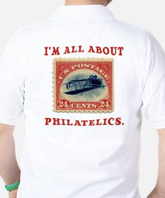 I'm All About Philatelics T-Shirt