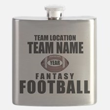 Your Team Personalized Fantasy Football Flask