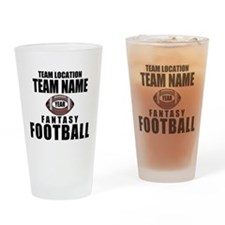 Your Team Personalized Fantasy Football Drinking G