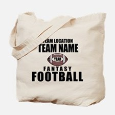 Your Team Personalized Fantasy Football Tote Bag