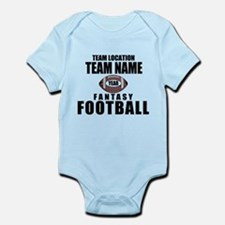 Your Team Personalized Fantasy Football Infant Bod