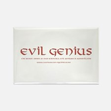 Evil Genius Rectangle Magnet