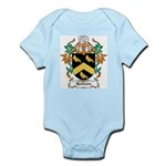 Hodson Coat of Arms Infant Creeper