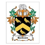 Hodson Coat of Arms Small Poster
