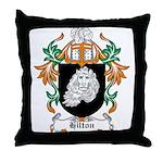 Hilton Coat of Arms Throw Pillow