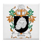 Hilton Coat of Arms Tile Coaster